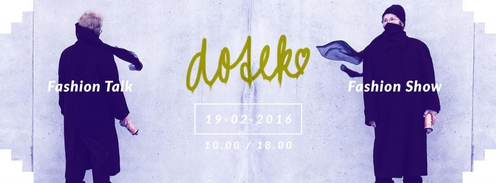 Fashion Show Dotek grafika